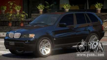 BMW X5 E53 R2 for GTA 4