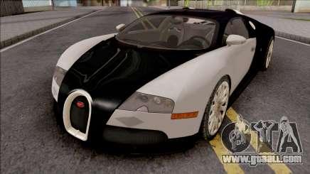 Bugatti Veyron VehFuncs for GTA San Andreas