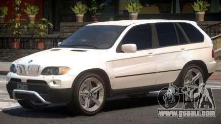 BMW X5 E53 R1 for GTA 4
