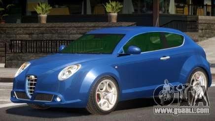 Alfa Romeo MiTo ST for GTA 4