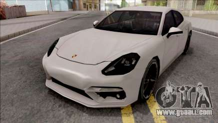 Porsche Panamera Turbo 2017 Lowpoly IVF for GTA San Andreas