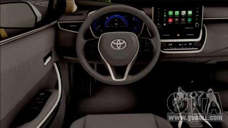 Toyota Corolla Hybrid 2020 for GTA San Andreas