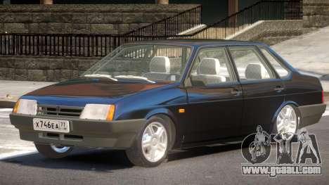 VAZ 21099 V1.1 for GTA 4