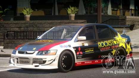 Mitsubishi Lancer Evolution 8 RS J1 for GTA 4