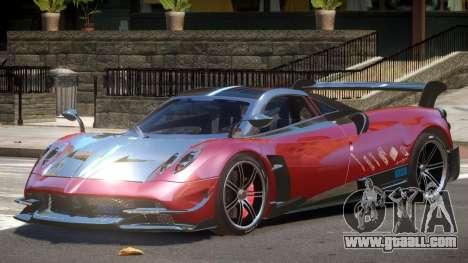 Pagani Huayra GT for GTA 4