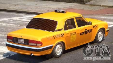 GAZ 31105 Taxi for GTA 4