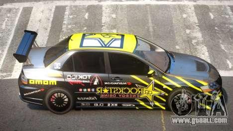 Mitsubishi Lancer Evolution 8 RS J2 for GTA 4