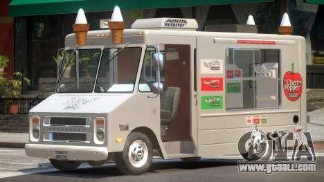 1985 Chevrolet Step Van Ice Cream for GTA 4