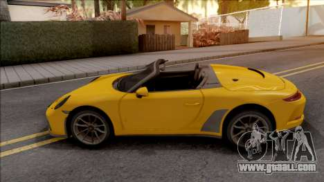 Porsche 911 Speedster 2020 for GTA San Andreas