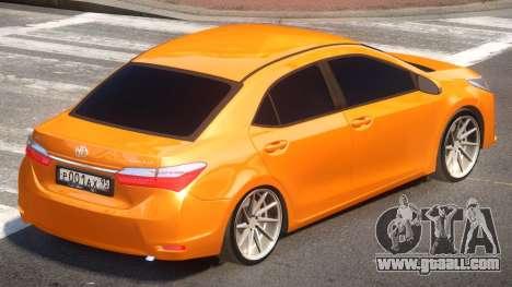 Toyota Corolla ST for GTA 4