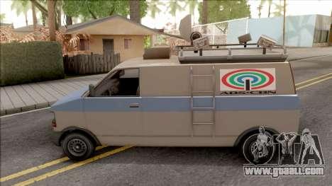Declasse Burrito ABS CBN for GTA San Andreas