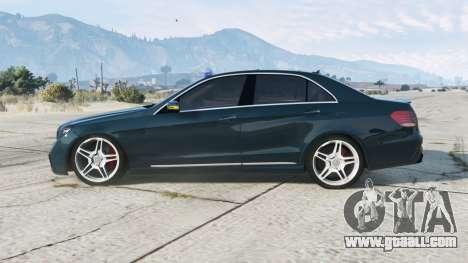 Mercedes-Benz E 63 Kriminalpolizei