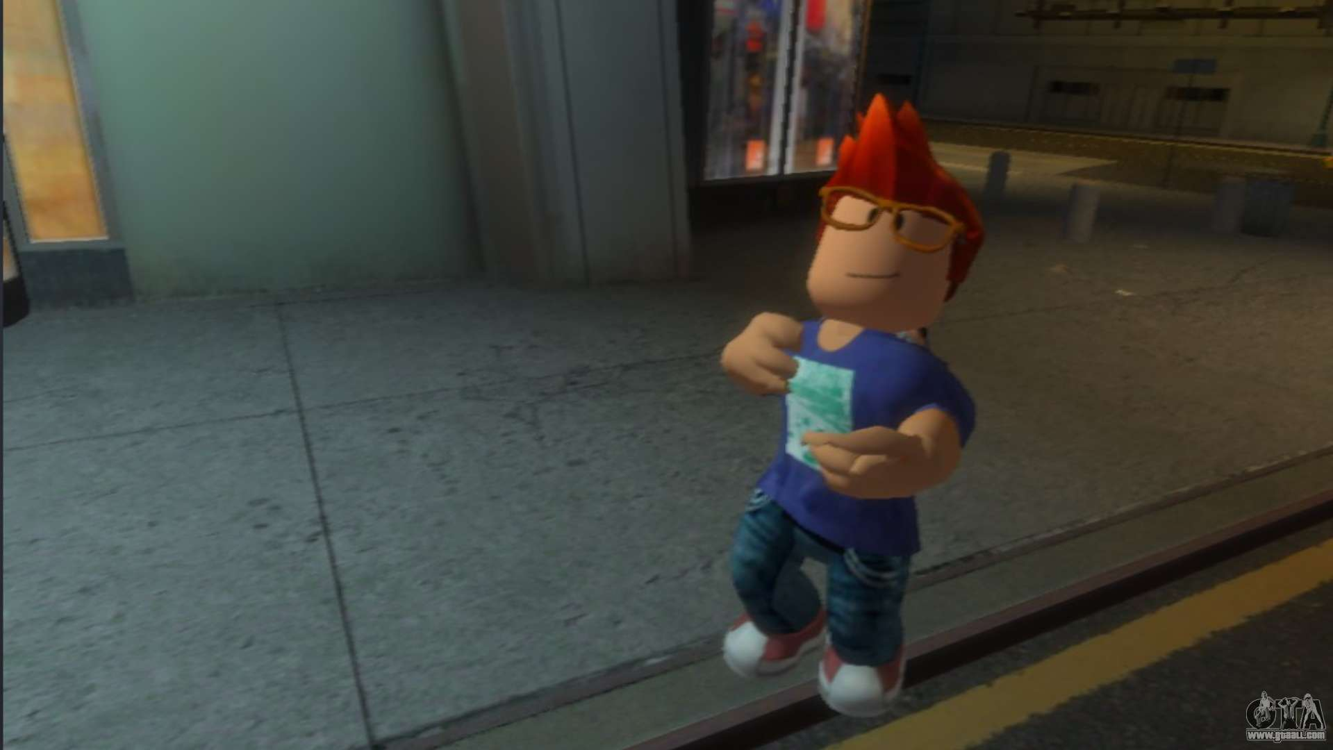 Oakley From Roblox For Gta 4