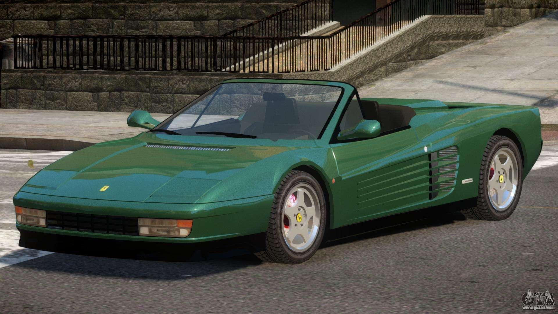 Ferrari Testarossa Rs For Gta 4