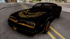 Pontiac Firebird Trans am 77 BlackOne for GTA San Andreas