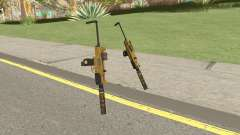 Micro SMG (Luxury Finish) GTA V Two Upgrades V7 for GTA San Andreas