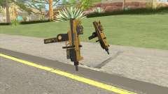Micro SMG (Luxury Finish) GTA V Two Upgrades V2 for GTA San Andreas