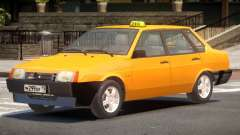 VAZ 21099 Taxi V1.0 for GTA 4