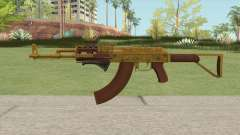 Assault Rifle GTA V (Two Attachments V6) for GTA San Andreas