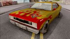 Plymouth Duster 340 Snake Hot Wheels for GTA San Andreas