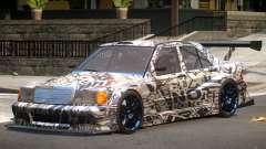 Mercedes 190E Sport PJ1 for GTA 4