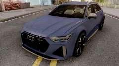 Audi RS6 C8 2020 for GTA San Andreas