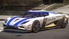 Koenigsegg Agera Police V1.3 for GTA 4