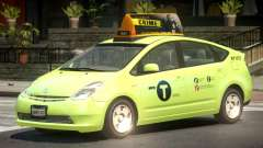 Toyota Prius 2 Taxi V1.3 for GTA 4