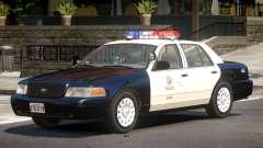 Ford Crown Victoria Police V1.2 for GTA 4