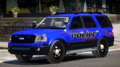 Ford Expedition Police V1.2 for GTA 4
