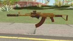 Assault Rifle GTA V (Three Attachments V6) for GTA San Andreas