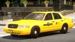 Ford Crown Victoria Taxi V1.1 for GTA 4
