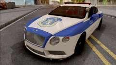 Bentley Continental GT Iranian Police v2