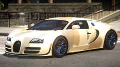 Bugatti Veyron 16.4 GT PJ1 for GTA 4