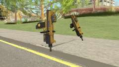 Micro SMG (Luxury Finish) GTA V Two Upgrades V1 for GTA San Andreas