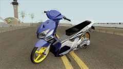 Yamaha Nouvo Z Babylook for GTA San Andreas