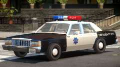 1987 Ford Crown Victoria Police V1.0 for GTA 4