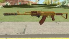 Assault Rifle GTA V (Two Attachments V7) for GTA San Andreas