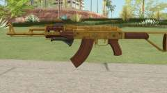 Assault Rifle GTA V (Two Attachments V5) for GTA San Andreas