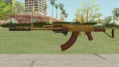 Assault Rifle GTA V (Three Attachments V2) for GTA San Andreas