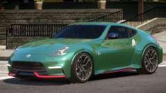 Nissan 370Z GT Nismo for GTA 4