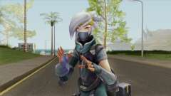 Silverfang Akali for GTA San Andreas