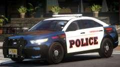 Ford Taurus Police V1.0 for GTA 4