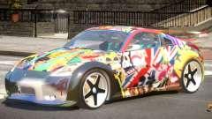 Nissan 350Z GT V1.0 PJ1 for GTA 4