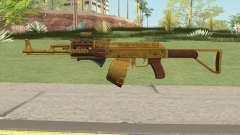Assault Rifle GTA V (Three Attachments V7) for GTA San Andreas