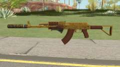 Assault Rifle GTA V (Three Attachments V3) for GTA San Andreas