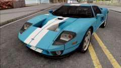 Ford GT 2005 LQ IVF for GTA San Andreas