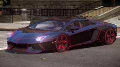 Lamborghini Aventador GTS for GTA 4