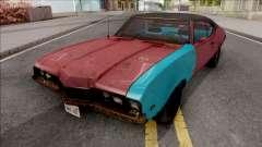 Oldsmobile Cutlass 1968 v2 for GTA San Andreas