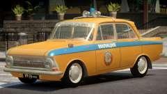 Izh 412 Police for GTA 4
